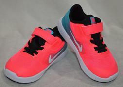 Nike Revolution 3  C-Blue/Wht/Pink Girl's Toddler Running Sh