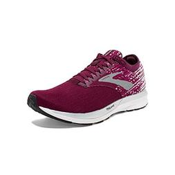 Brooks Womens Ricochet - Fig/Wild Aster/Grey - B - 8.0
