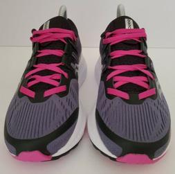 Saucony Ride ISO 8 Women's Running Shoes Dark Grey/Pink Size