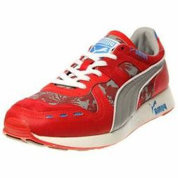 Puma RS 100 Tropicalia Running Shoes Red - Mens - Size 13 D