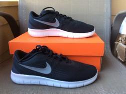 Boy's Nike 'Free Rn' Running Shoe, Size 4.5 M - Black