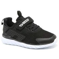 BODATU Girls Running Shoes Athletic Lightweight Mesh Sports