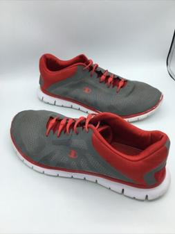 Champion Running Shoes Mesh Athletic Sneakers Gray Red Men's