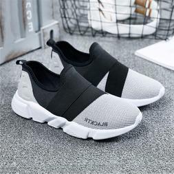 Running Shoes Super Light Men Slip-on Breathable Sport Boys