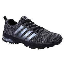 KUBUA Mens Running Shoes Trail Fashion Sneakers Tennis Sport