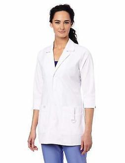 Dickies Scrubs Women's Junior Fit 3/4 Sleeve Lab Coat - Choo
