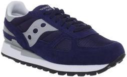 Saucony Originals Men's Shadow Original Sneaker,Navy/Grey,11