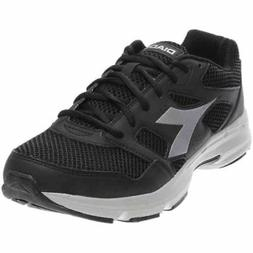 Diadora Shape 6 Running Shoes - Black;Silver - Mens