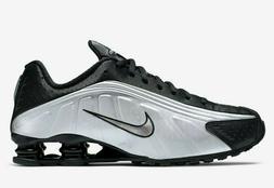 Nike Shox R4 Mens Casual Running Shoes 104265-050 Black Whit