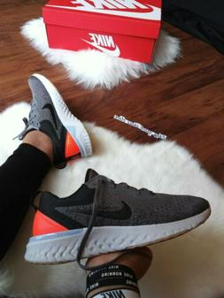 Size 6 Women's NIKE ODYSSEY REACT GRAY BLACK RUNNING CASUAL