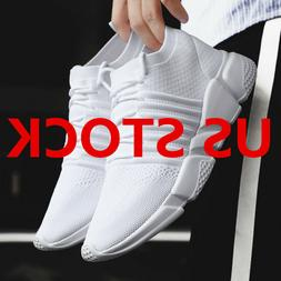 Size 7-14 Men Sneakers Breathable Casual Sport Running Fitne