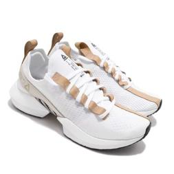 Reebok Sole Fury Lux White British Tan Mens Running Shoes Sn
