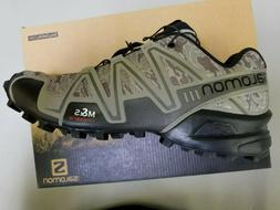 Salomon Speedcross 3 Trail Running Shoes CAMO Titanium L3732