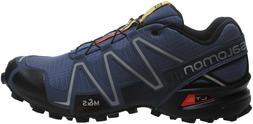 Salomon SpeedCross 3 Trail Running Shoes Mens 10.5 Blue
