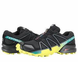 Salomon Speedcross 4 Black/Everglade/Sulphur Men's Trail Run