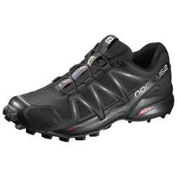 Salomon Speedcross 4 Lightweight Trail Running Shoe, Black/B
