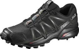 Salomon Speedcross 4 Mens Trail Running Shoes - Black/Black