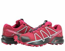 Salomon Speedcross 4 Red/Sangria/Black Women's Trail Running