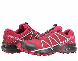 Salomon Speedcross 4 Red/Sangria Women's Trail Running Shoes