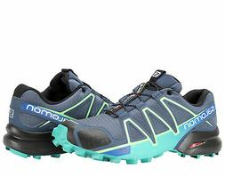 Salomon Speedcross 4 Slateblue/Fresh Green Women's Trail Run