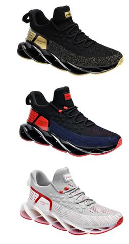 Sport Breathable fashion knit Blade shoes casual running sne