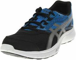 ASICS Stormer  Athletic Running Neutral Shoes - Black - Mens