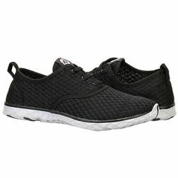 ALEADER Men's Stylish Quick Drying Water Shoes Black 8.5 D U