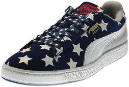 Puma Suede RWB Running Shoes - Blue - Mens