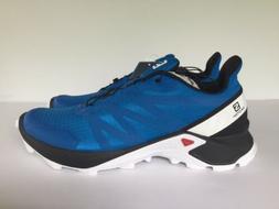 Salomon SUPERCROSS Trail Running Shoes Blue NEW 409296 32 VO