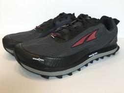 Altra Superior 3.5 Trail Running Black Red Shoes Zero Drop M