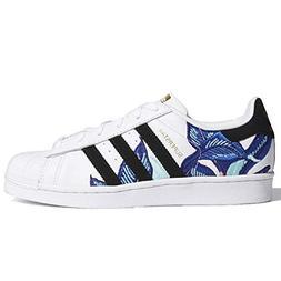 adidas Originals Women's Superstar Shoes Running, White/Blac