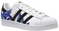 adidas Originals Women's Superstar Shoes Running, White/Blac