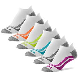 Prince Women's Tab Performance Athletic Socks for Running, T