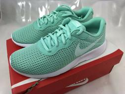 Nike Tanjun GS Girls Running Shoes Size 5 Y Big Kids Emerald