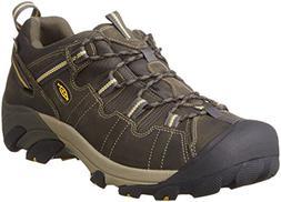 KEEN Men's Targhee II Hiking Shoe, Raven/Tawny Olive, 8.5 M