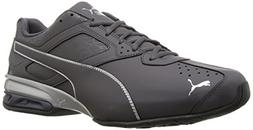 PUMA Men's Tazon 6 Fracture FM Sneaker, Periscope Silver, 11