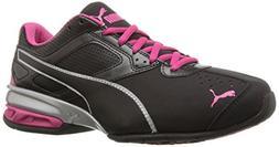 PUMA Women's Tazon 6 WN's fm Cross-Trainer Shoe Black Silver