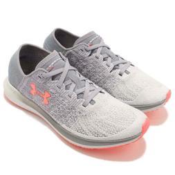 Under Armour Threadborne Blur Grey Pink Women Running Shoes