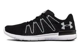 Under Armour Thrill 3 Black+White Men's Running Shoes Casual