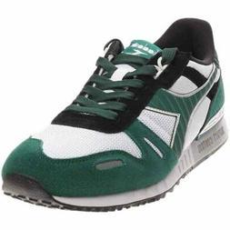 Diadora Titan Ii Running Shoes - Black;Green - Mens