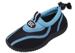 New Sunville Brand Toddler's Blue & Black Athletic Water Sho
