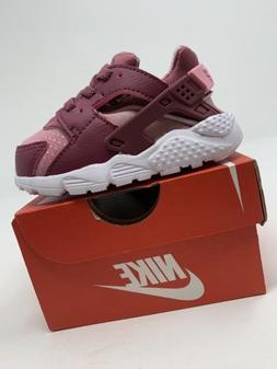 TODDLER GIRL: Nike Huarache Run Shoes, Purple & Pink - Size