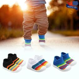 Toddler Infant Baby Girl Boy Colorful Soft Sole Sports Runni