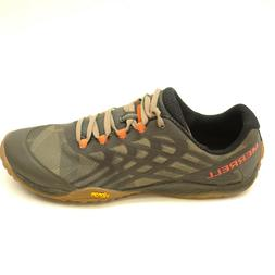 Merrell Trail Glove 4 US 10 EU 44 Vibram Olive Athletic Trai