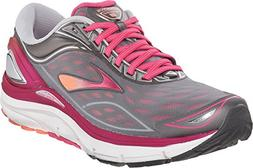 Brooks Women's Transcend 3 Silver/Beet Root Purple/Fresh Sal
