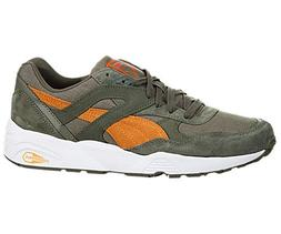 Mens PUMA Trinomic R698 Burnt Olive- Russet Orange 358016-02