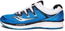 Saucony Triumph ISO 4 Men's Running Shoes  Blue Black White