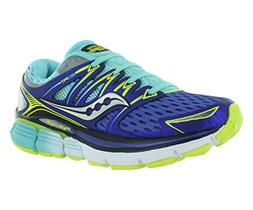 Saucony Women's Triumph ISO Running Shoe, Twilight/Oxygen/Ci