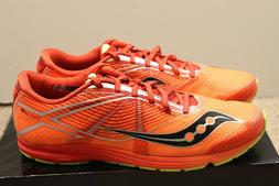 Saucony TYPE A Mens Size 10.5 Running Sneakers Shoes ORANGE/