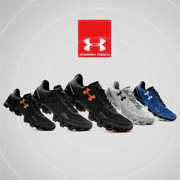 Under Armour Scorpio 2 Mens Black Running Road Sports Shoes
